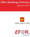 Katalog Budynków Biurowych - Łódź 2011